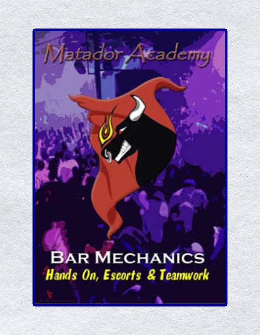 Bar Mechanics – Hands on / Escorts / Teamwork